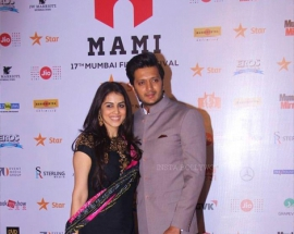 Riteish and Genelia Deshmukh dazzle at MAMI 2016