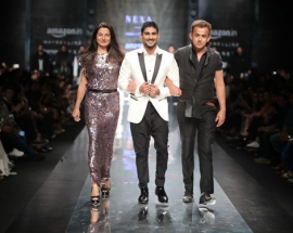 Kommal and Ratul sood presents 'NEXA Lifestyle' at the AIFW AW' 17
