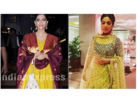 SonamKapoor and BhumiPednekar welcome spring in yellow — the traditional way