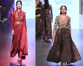 ``JODHAA`` by Manoj Agarrwal AT LAKME FASHION WEEK A/W 2017