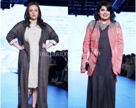 Avantika Malik and Mallika Dua walk the ramp for designer Shahni Himanshu
