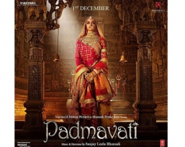 Deepika Padukone dressed in Rajasthani finery for `Padmavati`!