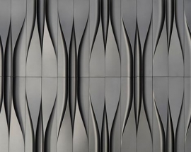Liquid Forms – Concrete Tile Design by KAZA Concrete