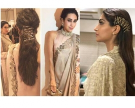Get creative, try out `Bobby Pin` art this wedding season