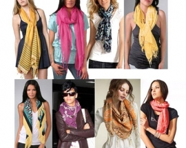 Ki amazing ways of styling a scarf