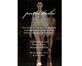 Designer Purvi Doshi to open Her First outlet in Mumbai