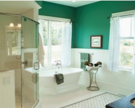 FINDING COLOR: BATHROOMS