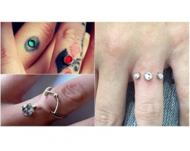 Engagement piercings are the latest in Instagram trends