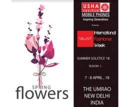 Usha Shriram Mobile Phones Present Vaunt International Fashioner Week  Makes its debut in Delhi
