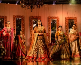 Tabu turned showstopper for Rimple and Harpreet Narula