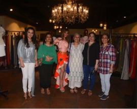 Ace Designer MONAZ Showcased its SS 18` collection at Jhelum Store, Mumbai