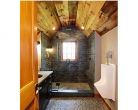 Wood in the Bathroom? Absolutely!
