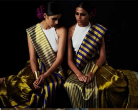 Payal Khandwala | Gemini | 2018 - Reversible Saris