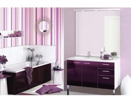 Make Your Bathroom Exciting with Colorful Wallpaper!