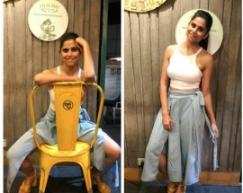 Sai Tamhankar in Zink London for an Event
