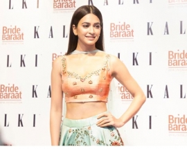 THE BOLLYWOOD STUNNER KRITI KHARBANDA UNVEILED KALKI FASHION`S PREVIEW LAUNCH OF `Bride And Baraat`