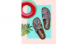 Desi Kolhapuris, Modern Avatar at Colour Me Mad`` A Vegan Footwear Brand