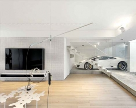 House Design For Car Lover in Hong Kong