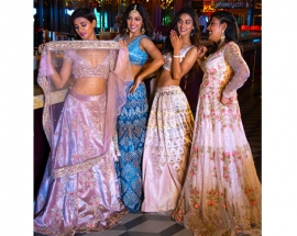 Not With out My Mohans: KALKI Fashion & the Mohan Sisters Had the Most Aww-Dorable Bridesmaid Shoot!