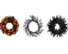 SPOOKY AND CHIC HALLOWEEN WREATHS
