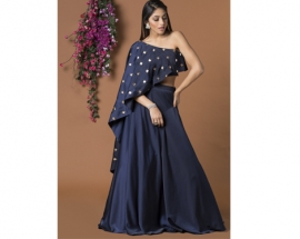 Designer Mehak Murpana Presents Stylish Indo Western Collection