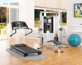 IT`S TIME TO GET FIT - DESIGN IDEAS AND TIPS FOR YOUR GYM AT HOME
