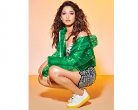 Tamannaah Bhatia flashes an edgy look with Clovia Lingerie in a recent cover shoot!