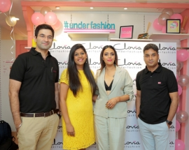 Actress Swara Bhasker visits Clovia`s Kalkaji store on its first anniversary - a premium lingerie & loungewear brand