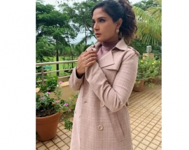 Actress Richa Chadda Spot in Latin Quarter Jacket