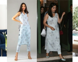 Gorgeous Bhumi Pednekar spotted in Spring Diaries for a dinner outing
