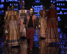 Designer Rajdeep Ranawat Showcased At Lakme Fashion Week WF 2019