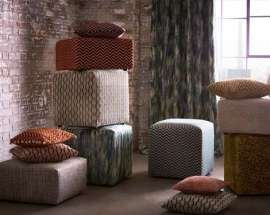 Clarke & Clarke Launches Its New Collection of Furnishing Fabrics - Kaleidoscope