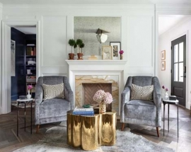 INTERIOR DESIGNER PALOMA CONTRERAS BLENDS ELEGANCE AND COMFORT IN THIS HOUSTON HOME