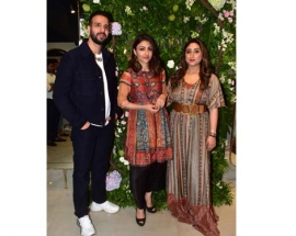 B-Town ladies Soha Ali Khan and Dia Mirza graced the store launch and unveiled the firstlook of the New Homegrown apparel label