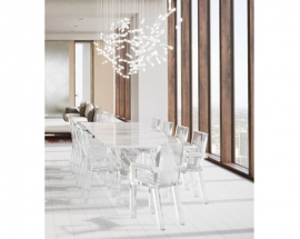 IDEAS FOR STYLING ACRYLIC DINING CHAIRS
