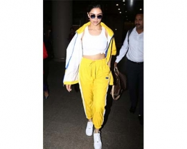 What Bollywood stars can teach you about wearing tracksuits to the airport?