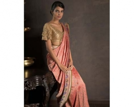 Everything you need to know about the Amdavadi zari sari