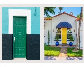 COLORFUL FRONT DOOR IDEAS FOR YOUR MOST STRIKING ENTRANCE