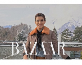 BTS Video of Kriti Sanon for Magazine covershoot in Switzerland
