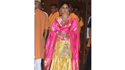 These pictures take you inside Kareena Kapoor Khan`s sharara collection