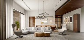 42mm Architecture Unveils Chic Rustic  Interiors of a City Home