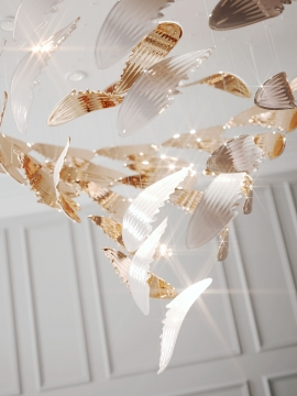 Sans Souci Launches A New Signature  Pendant Light - Wings