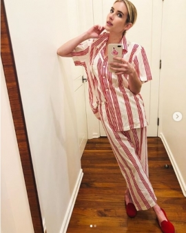 Pyjamas are the official lockdown uniform for celebrities, and will become yours too