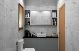 Small Bathroom Luxury Makeovers on a Budget