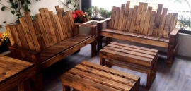 Cool Indian Furniture made of Almost Nothing: Use Pallets